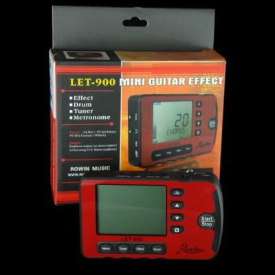LET-900, Mini Guitar effect / metronome