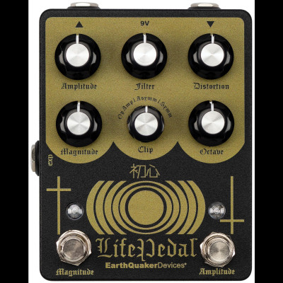EarthQuaker Life Pedal V2 Distortion, octave up, and booster