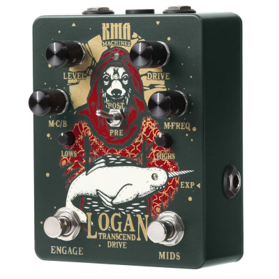 KMA Logan Overdrive with Switchable Mid Boost