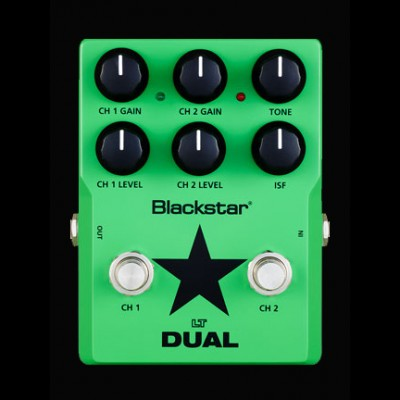 Blackstar LT Dual 2 Channel Guitar Overdrive Pedal