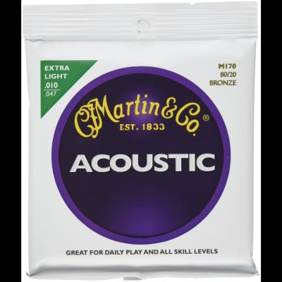 Martin M170 - Bronze Acoustic Strings (Extra Light)