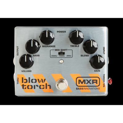 MXR M-181 Bass Blowtorch Overdrive Distortion