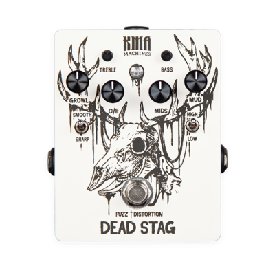 KMA Machines Dead Stag Fuzz/ Distortion Pedal w/ Active EQ