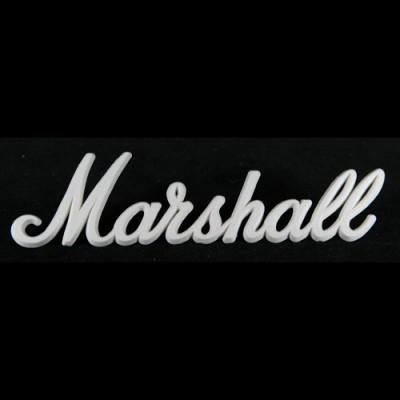 Marshall Logo - White