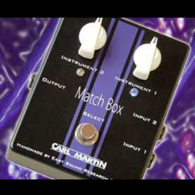 Carl Martin Match Box AB Switch