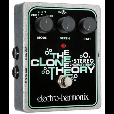 Electro Harmonix Stereo Clone Theory Analog Chorus / Vibrato