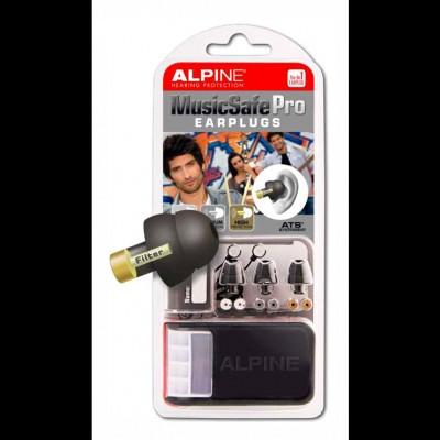 Alpine MusicSafe Pro Ear Plugs (Black)