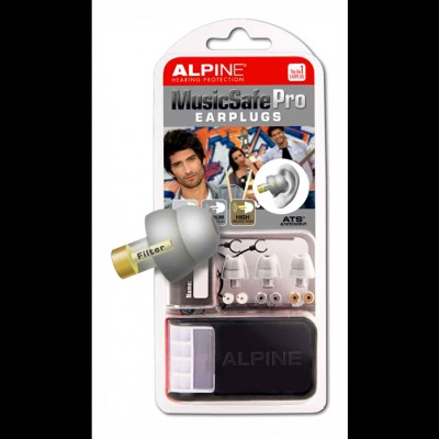 Alpine MusicSafe Pro Ear Plugs (Silver)