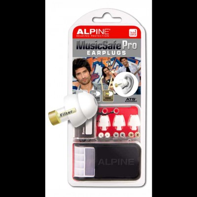 Alpine MusicSafe Pro Ear Plugs (White)