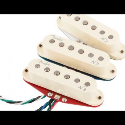 Fender N3 Noiseless Strat Pickups (White)