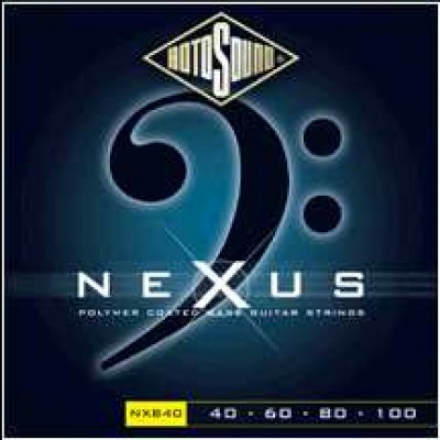 Rotosound Nexus Bass (Black Polymer Coated)
