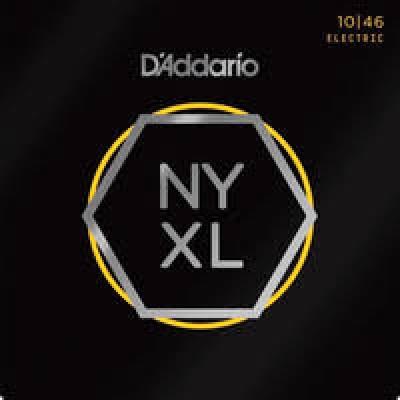 D'Addario NYXL1046-3P Nickel Guitar Strings 10-46 Light 3-Pack