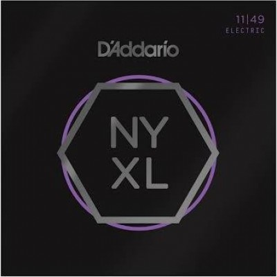 D'Addario NYXL1149 Nickel Strings Medium (11-49