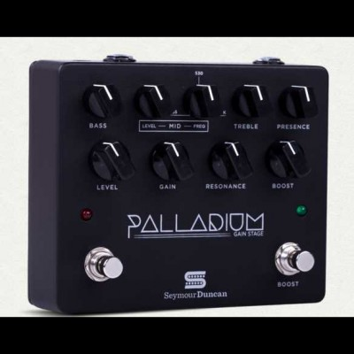 Seymour Duncan Palladium Gain Stage Overdrive, Black