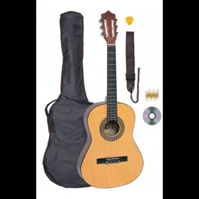 Palmer  Junior Classic Guitar Outfit, Natural 3/4 Size