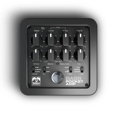 Palmer MI POCKET AMP BASS - Portable Bass Preamp