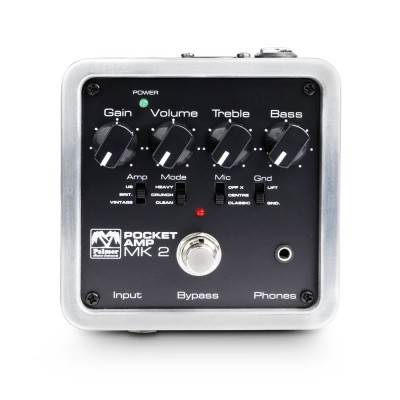 Palmer MI POCKET AMP MK 2 - Portable Guitar Preamp