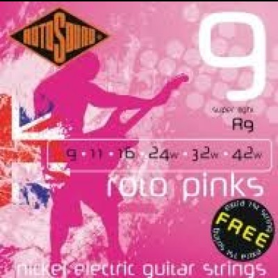 Rotosound R9 Pink, 9-42