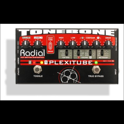 Radial Plexitube 12AX7 Tube Distortion