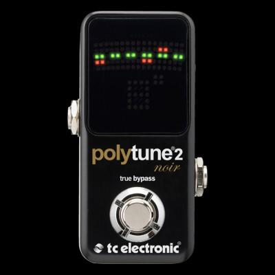 TC Electronics PolyTune 2 Noir Chromatic Tuner