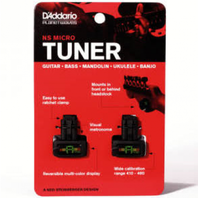 Planet Waves PW-CT-12 NS Micro Headstock Tuner