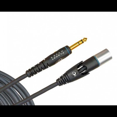 Planet Waves PW-GM-25 Custom Microphone Cable XLR-1/4 inch 25ft