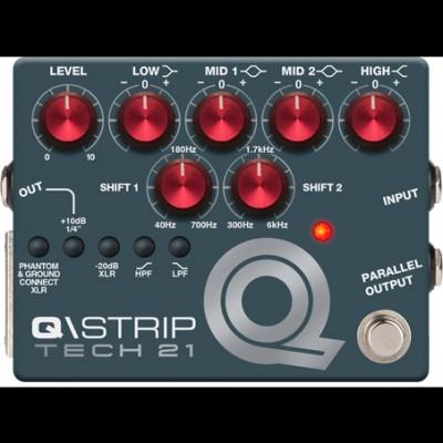 Tech 21 QST1 Q\Strip Dual Parametric EQ/DI & Channel Strip