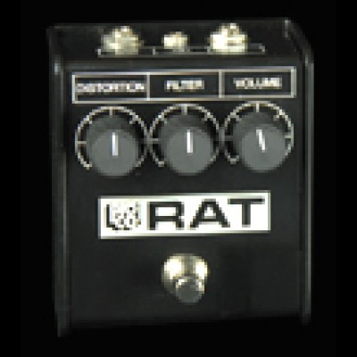 pro Co Rat White Face Limited Edition 85 distortion pedal