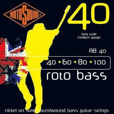Rotosound RB40 Roto Bass Long Scale Bass (40-100)