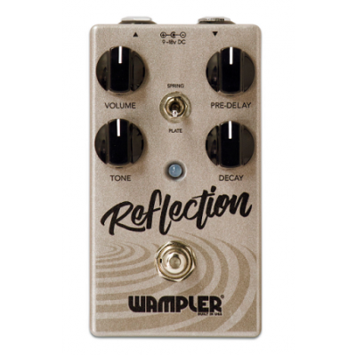 Wampler Reflection Stereo Reverb Pedal