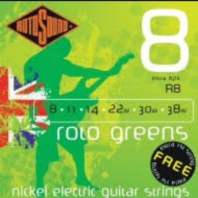 Rotosound R8 Greens 8-30