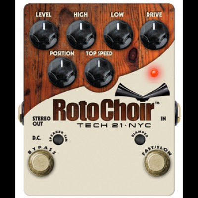 Tech 21 Roto Choir Guitar Pedal Leslie Emulator