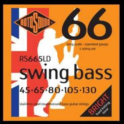 Rotosound RS66LD Swing Bass, Guitar Strings Standard (45-105)