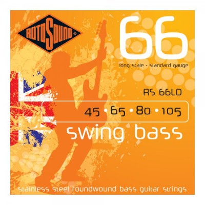 rotosound RS66LD Swing Bass, Guitar Strings Standard (45-105)