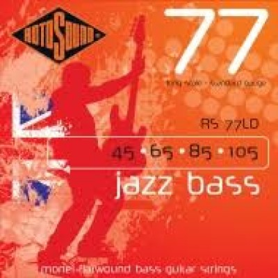 Rotosound RS77LD Long Scale Flatwound Jazz Bass 45-105