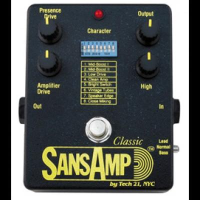 Tech 21 SansAmp Classic, Relic Style