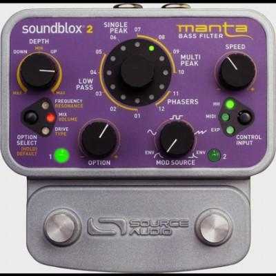 Source Audio Soundblox2 Manta Bass Filter