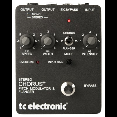 TC Electronic SCF Stereo Chorus, Pitch Modulator & flanger