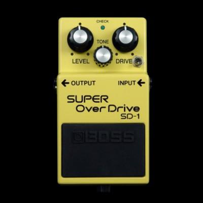 Robert keeley SD-1 Super Overdrive Mod