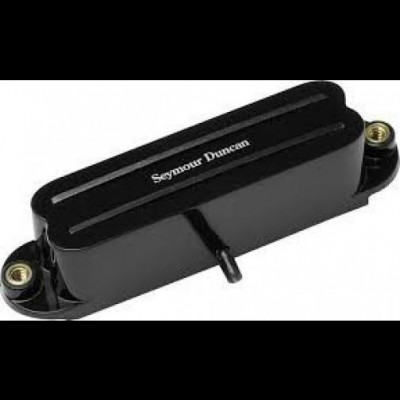 Seymour Duncan SHR-1B Hot Rails Bridge for Strat Guitar (Black)