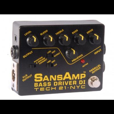 Tech 21 BSDR SansAmp Bass Driver Di