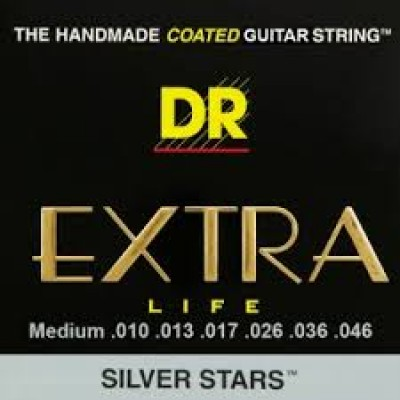 Silver Stars - Extra-Life Silver Coated Electric 10-46 SIE-10
