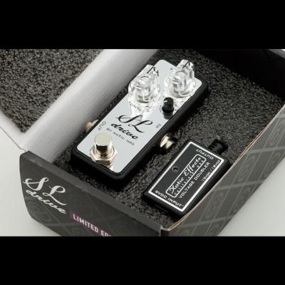 Xotic SL Drive Chrome - Voltage Doubler Bundle (Ltd Edition)