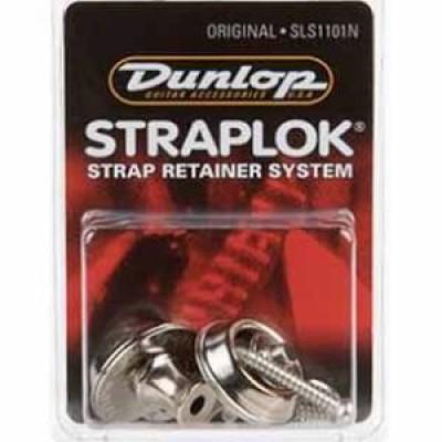 Jim Dunlop SLS1101N Strap Lock Original - (Nickel Set)