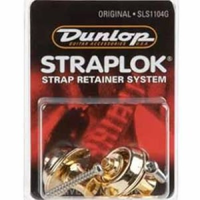 Jim Dunlop SLS1104G Strap Lock Original - (Gold Set)