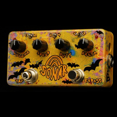 ZVEX Sonar Tremolo effects pedal (Hand painted) A170