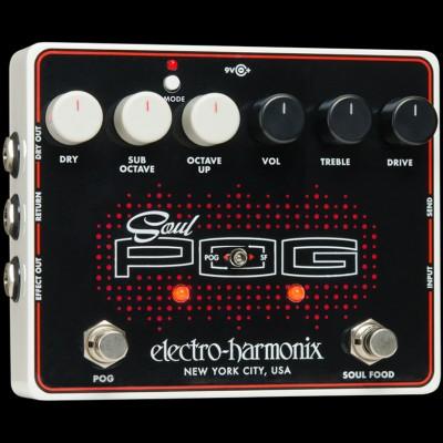 Electro Harmonix Soul POG Multi Effect: Nano POG + Soul Food