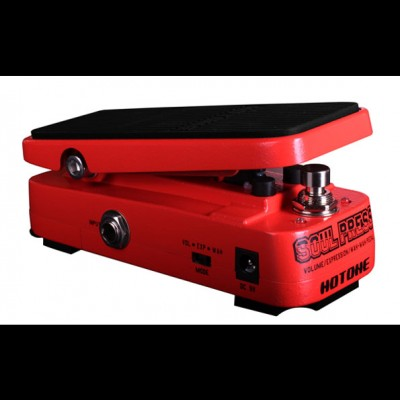 Hotone Soul Press Mini Wah, Volume and Expression Pedal