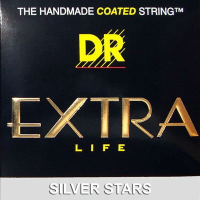 DR DR Silver Stars - Extra-Life Silver Coated Electric 9-42 SIE-9