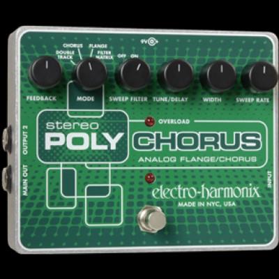 Electro Harmonix Stereo PolyChorus xo